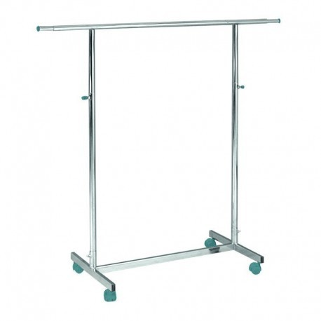Penjador de base recta i barra de 100 cm de llarg.