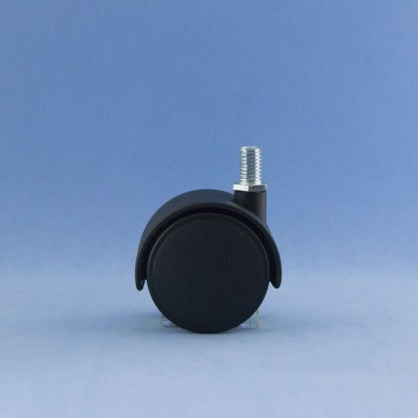 Rueda de 50 mm con inserto a rosca.