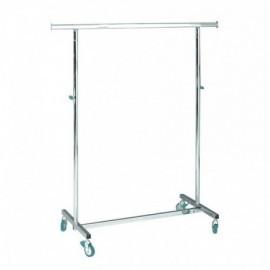 Penjador plegable d'altura regulable i 100 cm de llarg.