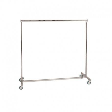 Penjador plegable d'altura fixa i 150 cm de llarg.