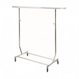 Penjador plegable d'altura regulable i 130 cm de llarg.