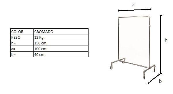 Medidas del perchero DP021TF